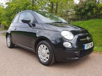 USED 2012 12 FIAT 500 1.2 POP 3d 69 BHP **£30 ROAD FUND**1 OWNER**SUPERB DRIVE**