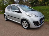 USED 2013 13 PEUGEOT 107 1.0 ALLURE 5d 68 BHP **£0 ROAD FUND**GREAT DRIVE**1 OWNER**