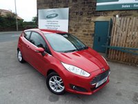 USED 2017 17 FORD FIESTA 1.2 ZETEC 3d 81 BHP ONE Owner Bluetooth