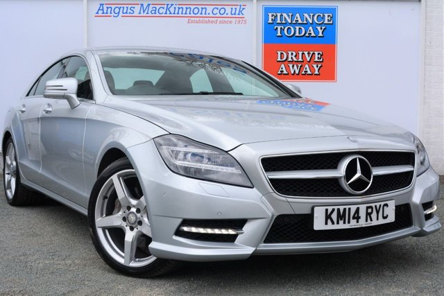 2014 14 MERCEDES-BENZ CLS CLASS 3.0 CLS350 CDI BLUEEFFICIENCY AMG SPORT 4d AUTO 265 BHP