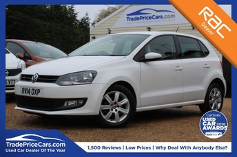 2014 VOLKSWAGEN POLO 1.4 MATCH EDITION 5d 83 BHP £9950.00