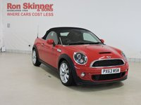 USED 2013 63 MINI ROADSTER 2.0 COOPER SD 2d 141 BHP with CHILI Pack + Heated Seats