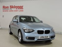 USED 2014 14 BMW 1 SERIES 2.0 116D SE 5d 114 BHP with rear parking sensor