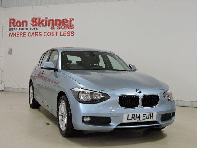 View our 2014 14 BMW 1 SERIES 2.0 116D SE 5d 114 BHP with rear parking sensor