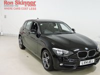 USED 2014 14 BMW 1 SERIES 2.0 116D SPORT 5d 114 BHP with rear parking sensor