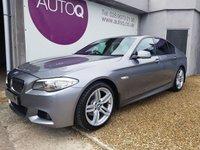 2013 BMW 5 SERIES 2.0 520D M SPORT 4d AUTO 181 BHP £14750.00