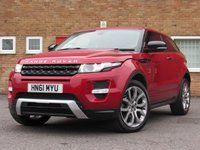 2011 LAND ROVER RANGE ROVER EVOQUE 2.0 SI4 DYNAMIC LUX 3d AUTO 240 BHP £24995.00