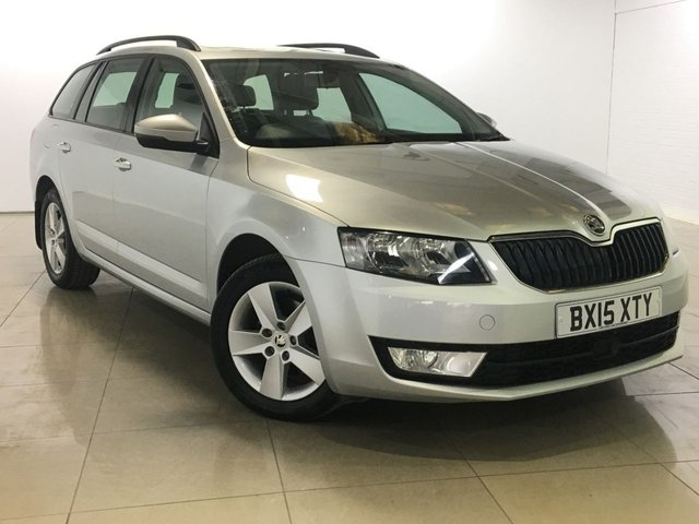 View our 2015 15 SKODA OCTAVIA 2.0 SE BUSINESS TDI CR 5d 148 BHP
