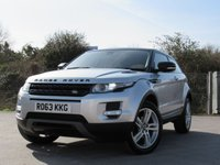 USED 2013 63 LAND ROVER RANGE ROVER EVOQUE 2.2 SD4 PURE 3d 190 BHP