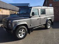 2014 LAND ROVER DEFENDER 2.2 TD XS UTILITY WAGON 1d 122 BHP £25500.00