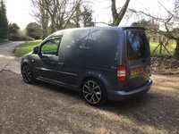 USED 2014 14 VOLKSWAGEN CADDY 1.6 C20 TDI TRENDLINE LOWERED, NEW WHEEL AND TYRES, SEAT UPGRADE R LINE STYLING,  R LINE STYLING, SEAT UPGRADE, LOWERED,