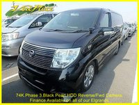 2008 NISSAN ELGRAND Highway Star 2.5 Automatic 8 Seats RARE PHASE 3 CAR £9500.00