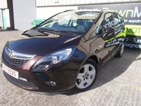 USED 2015 VAUXHALL ZAFIRA TOURER 1.8 EXCLUSIV 5d 138 BHP Excellent 7 Seater, FSH, Only One Owner, No Deposit Finance Available
