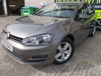 USED 2015 VOLKSWAGEN GOLF 1.6 MATCH TDI BLUEMOTION TECHNOLOGY DSG 5d AUTO 103 BHP Excellent Condition, FSH, Low Rate Finance Available, No Deposit, No Fee Finance