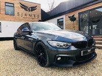 2016 BMW 4 SERIES 2.0 420D XDRIVE M SPORT GRAN COUPE 4d AUTO 188 BHP £23490.00
