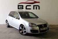 2007 VOLKSWAGEN GOLF 2.0 GTI 5d 197 BHP £5485.00