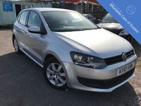 USED 2010 10 VOLKSWAGEN POLO 1.6 SE TDI 5d 74 BHP WELL BUILT VERY ECONOMICAL 5 DOOR HATCHBACK WITH AIRCONDITIONING