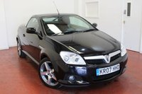 USED 2007 07 VAUXHALL TIGRA 1.4 EXCLUSIV 16V RED 2d 90 BHP