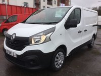 USED 2014 64 RENAULT TRAFIC 1.6 SL27 BUSINESS DCI S/R P/V 1 OWNER