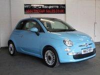 2012 FIAT 500 1.2 LOUNGE 3d 69 BHP £4637.00