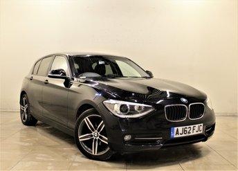 2012 BMW 1 SERIES 2.0 118D SPORT 5d AUTO 141 BHP £10999.00