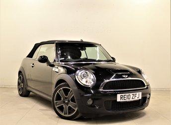 2010 MINI CONVERTIBLE 1.6 COOPER S 2d 184 BHP £6499.00