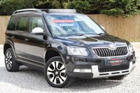 USED 2015 15 SKODA YETI 2.0 OUTDOOR LAURIN AND KLEMENT TDI CR 5d 170 BHP ***FULL LEATHER*** ***SATELLITE NAVIGATION*** ***PANORAMIC ROOF***