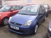 USED 2006 56 FORD FIESTA 1.2 STYLE CLIMATE 16V 5d 78 BHP Ideal first car, great value, low insurance.