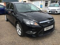 USED 2009 59 FORD FOCUS 1.8 ZETEC S S/S 5d 124 BHP FULL SERVICE HISTORY  PRIVACY GLASS
