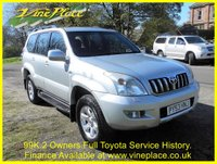 USED 2004 53 TOYOTA LAND CRUISER 3.0 LC3 8-SEATS D-4D 5d 161 BHP +FULL TOYOTA SERVICE HISTORY+