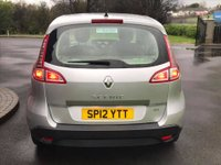 USED 2012 12 RENAULT SCENIC 1.5 EXPRESSION DCI 5d 110 BHP