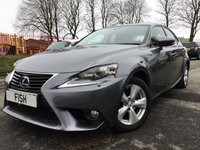 2013 LEXUS IS 300H 2.5 SE 4d AUTO 220BHP £14290.00
