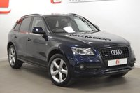 USED 2009 59 AUDI Q5 3.0 TDI QUATTRO S LINE 5d 240 BHP HEATED SEATS FRONT/BACK + PAN ROOF + REAR ENTERTAINMENT + BLACK PACK
