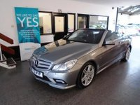 "USED 2010 10 MERCEDES-BENZ E CLASS 2.1 E250 CDI BLUEEFFICIENCY SPORT 2d AUTO 204 BHP This E250 2.1 Sport CDi Blue Efficiency is simply beautiful...virtually unmarked Finished in Palladium Silver Metallic with Black leather trim. Full Mercedes History done @ 6025/12289/16246/24010/29967/34534/46366 miles, Its in superb condition inside and out, not been smoked in or carried pets. Its fitted with Electric Folding Roof,  Mercedes Navigation & bluetooth, neck scarf, daytime running lights,18"" Alloy wheels,  bi xenon headlights, power folding mirrors, heated Full leather & more"