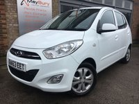 USED 2013 63 HYUNDAI I10 1.2 ACTIVE 5d 85 BHP ONE LADY OWNER FROM NEW WITH FULL HYUNDAI SERVICE HISTORY