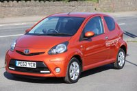 USED 2012 62 TOYOTA AYGO 1.0 VVT-I FIRE 3d 67 BHP +++ FREE 6 months Autoguard Warranty included in screen price +++