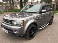 USED 2010 10 LAND ROVER RANGE ROVER SPORT 3.0 TDV6 HSE 5d AUTO 245 BHP GREAT LOOKING HSE SPORT IN MET GREY WITH FULL SERVICE HISTORY