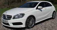 2014 MERCEDES-BENZ A CLASS 1.8 A200 CDI BLUEEFFICIENCY AMG SPORT 5d 136 BHP £13495.00