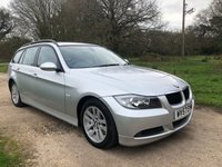 USED 2007 57 BMW 3 SERIES 2.0 320D SE TOURING 5d 161 BHP Air Con, F/S/H, Alloy Wheels