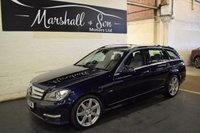 USED 2012 12 MERCEDES-BENZ C CLASS 2.1 C250 CDI BLUEEFFICIENCY SPORT 5d AUTO 202 BHP ESTATE