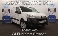 2015 CITROEN BERLINGO 1.6 HDi 625 ENTERPRISE with Wi-Fi Internet Browser, Air Con, Touchscreen DAB Radio, Bluetooth 3Seats £SOLD