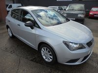 2012 SEAT IBIZA 1.2 S A/C 5d 69 BHP £4690.00