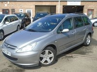 USED 2003 53 PEUGEOT 307 2.0 SW SE HDI 5d 106 BHP GREAT VALUE+NEW MOT AFTER PURCHASE