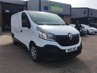 2015 RENAULT TRAFIC 1.6 SL29 BUSINESS ENERGY DCI S/R P/V 1d 120 BHP £8500.00