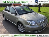 USED 2006 06 TOYOTA AVENSIS 1.8 T2 COLOUR COLLECTION VVT-I 5d 128 BHP Full Toyota Dealer History!