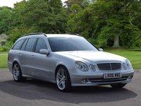 2006 MERCEDES-BENZ E CLASS 3.0 E280 CDI AVANTGARDE 5d AUTO 187 BHP £3795.00
