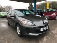 USED 2012 12 MAZDA 3 1.6 TS 5d 103 BHP LOOKING FOR FINANCE? WE STRIVE FOR 94% ACCEPTANCE