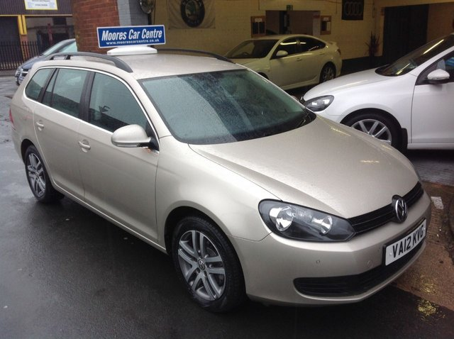 2012 12 VOLKSWAGEN GOLF 1.6 SE TDI BLUEMOTION DSG ESTATE