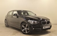 USED 2013 63 BMW 1 SERIES 2.0 116d Sport 117 BHP + 1 OWNER +  SERVICE HISTORY + AIR CON + AUX