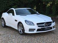 2014 MERCEDES-BENZ SLK 1.8 SLK200 BLUEEFFICIENCY AMG SPORT 2d AUTO 184 BHP £15990.00